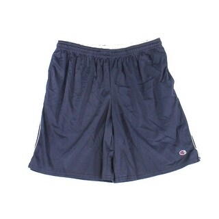 Champion NEW Navy Blue Men's Size XL Long Stretch Mesh Pull On Shorts