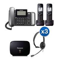 """Panasonic KX-TG9582B-Bundle 2 Handset Corded / Cordless (2 Line)"""