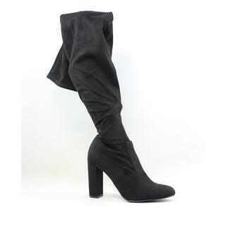1f0910a3831 Steve Madden Womens Osana Black Fashion Boots Size 7.5. Quick View