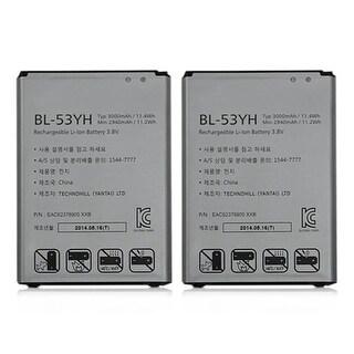 Replacement Battery 3200mAh for LG G3 A / Optimus G3 Verizon Phone Models (2 Pk)