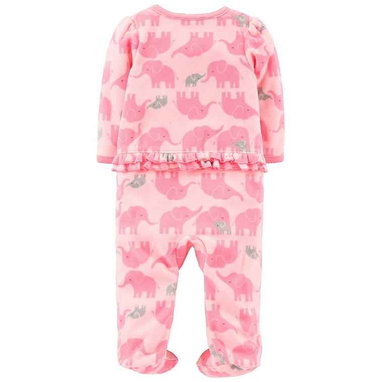 Simple Joys by Carters Baby-Jungen 2-pack Fleece Footed Sleep and Play Schlafstrampler