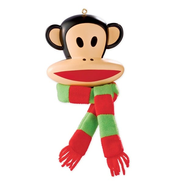 Carlton Cards Heirloom Paul Frank Julius the Monkey Christmas Ornament