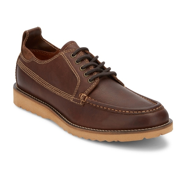 Lucky Brand Mens Stocker Leather Rugged Oxford Shoe