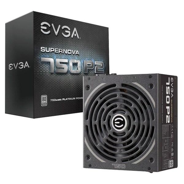EVGA SuperNOVA 750 P2 220-P2-0750-X1 80+ PLATINUM 750W Fully Modular EVGA ECO Mode Power Supply