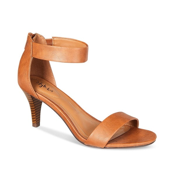 Style & Co. Womens Paycee Open Toe Casual Ankle Strap Sandals. Opens flyout.
