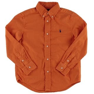 Ralph Lauren Boys Button-Down Shirt Monogram Long Sleeves https://ak1.ostkcdn.com/images/products/is/images/direct/a5c7e59174ea8bc20d873e676075cddb4da41499/Ralph-Lauren-Boys-Button-Down-Shirt-Monogram-Long-Sleeves.jpg?impolicy=medium