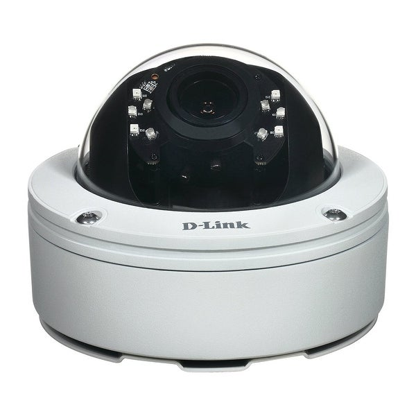D-Link Dcs-6517 5Mp Outdoor Dome Network Camera, Black