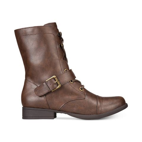 American Rag Womens Farahh Closed Toe Mid-Calf Fashion Boots