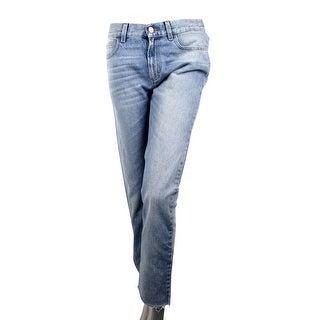 Link to Gucci Women's Denim Capri Light Blue Cotton Super Bleach Washed Jeans 417285 Similar Items in Women's Designer Clothing