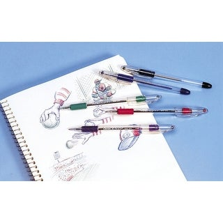 Pentel RSVP Sketching Pen, Assorted Color, Pack of 5