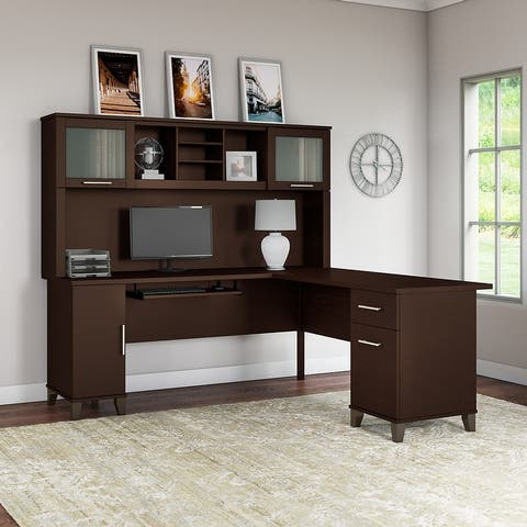 Copper Grove Shumen 71-inch L-shaped Desk