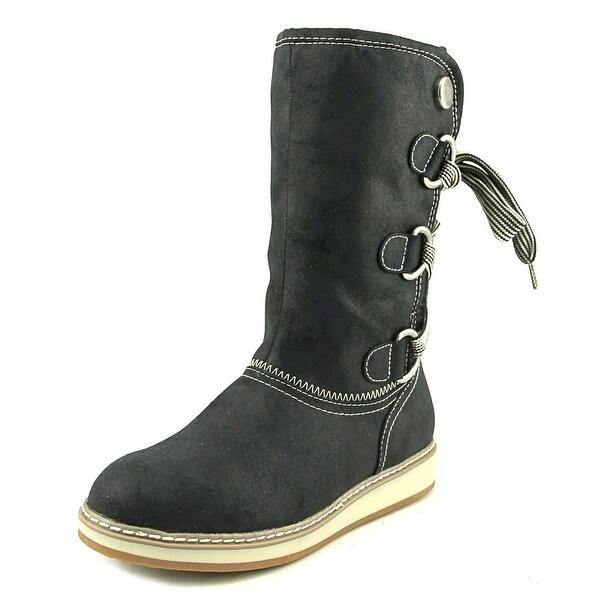 White Mountain Tivia Women Black Snow Boots