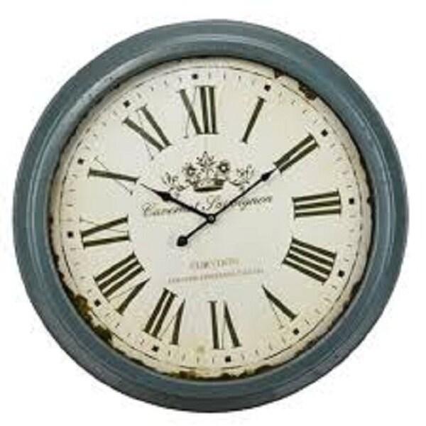 """26"""" Antique Crowne Wall Clock - N/A"""