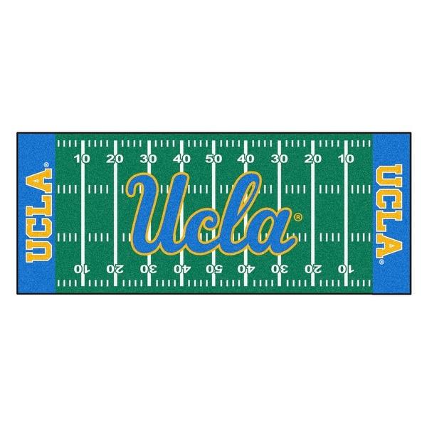 Shop NCAA University of California - Los Angeles (UCLA) Bruins Football  Field Runner Mat Area Rug - Free Shipping Today - Overstock - 22625456 2e1982e95
