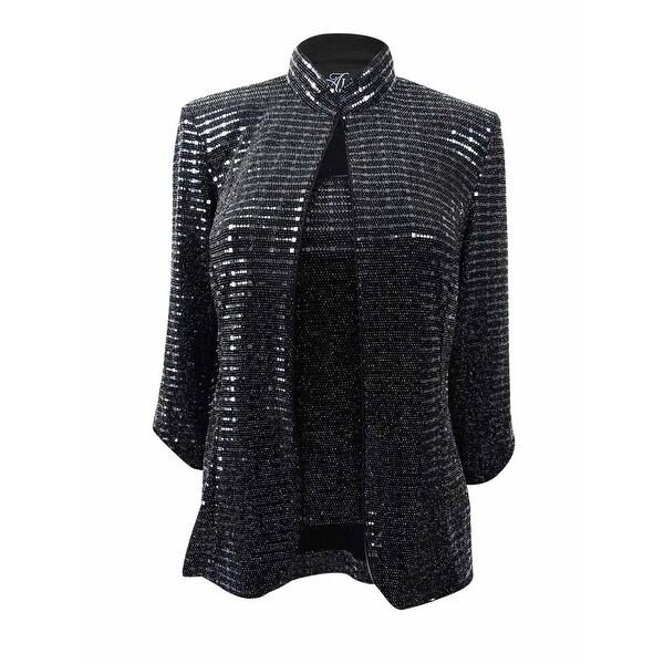 3eac766902f Shop Alex Evenings Women s Plus Size Sequined Jacket   Shell (1X ...