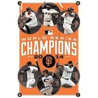 2014 San Francisco Giants World Series - Champions Poster Print -