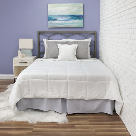 Fresh and Clean Comforter with Antimicrobial Ultra-Fresh Treated Fabric from BioPEDIC