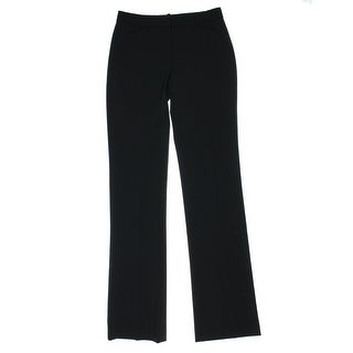 Theory Womens Max 2 Virgin Wool Straight Leg Dress Pants