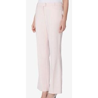Calvin Klein NEW Pink Women's Size 4 Straight Leg Stretch Dress Pants