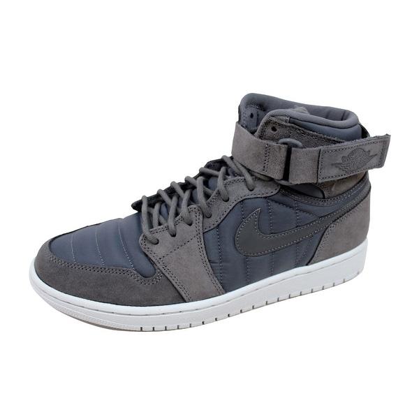 Nike Men's Air Jordan 1 High Strap Dark Grey/Dark Grey 342132-005