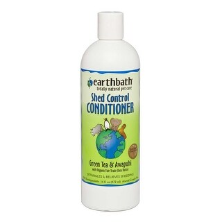 earthbath Shed Control Conditioner with Green Tea & Awapuhi 16oz