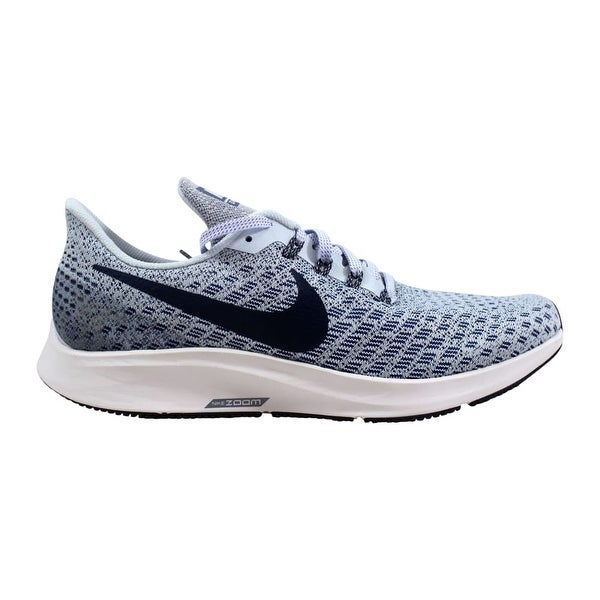 new style 4f6a1 f46b1 Shop Nike Air Zoom Pegasus 35 Football Grey/Thunder Blue ...