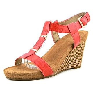 A2 By Aerosoles Plush Nite  W Open Toe Synthetic  Wedge Sandal