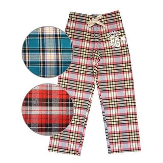Farm Girl Western Pants Womens Plaid Flannel Lounge