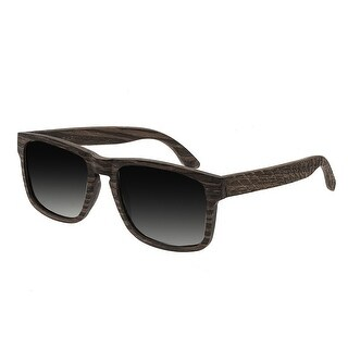 Earth Wood Whitehaven Unisex Wood Sunglasses - 100% UVA/UVB Prorection - Polarized/Mirrored Lens - Multi