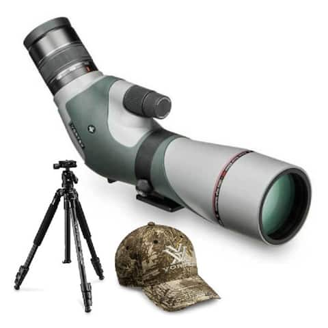 Vortex Razor HD 16-48x65 Angled Spotting Scope with Tripod Kit