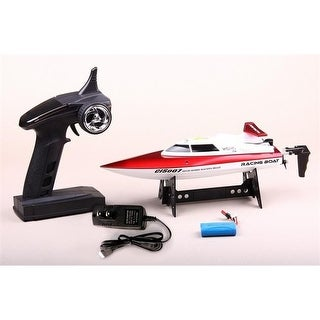 CIS FT007 13 in. 15 MPH Speed Boat with Lipo & 2.4 GHz Remote