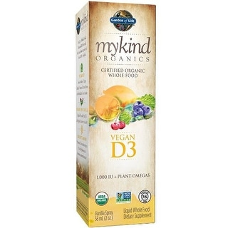 Garden of Life - mykind Organics D3 Spray - 2 oz Liquid