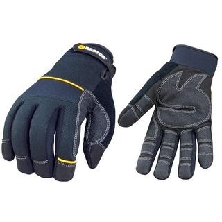 Raptor Tools RAP90201 Performance Plus Utility / Mechanical Gloves, Medium Size