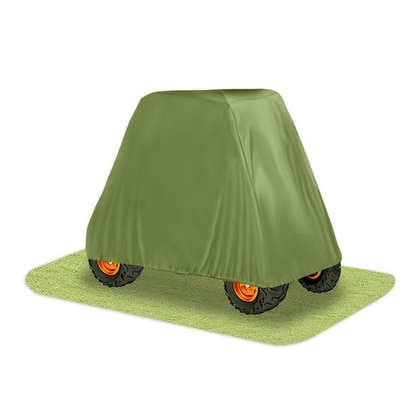 Armor Shield 4 x 4 UTV Utility Vehicle Storage Protective Indoor/Outdoor Cover, Fits Vehicles up to 125'' Long, Olive Color