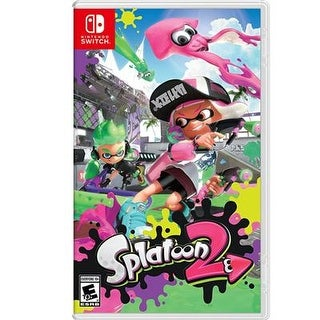 Nintendo Hacpaab6b Splatoon 2 Multiplayer Action Game For Nintendo Switch