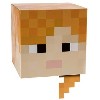 "Minecraft 12"" Alex Head Costume Mask"