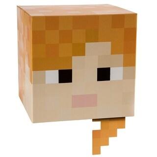 "Minecraft 12"" Alex Head Costume Mask - Orange"