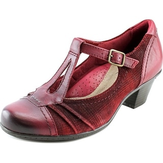 Earth Wanderlust Round Toe Leather Mary Janes