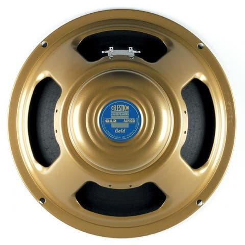 Gold 12-In 50W 8 Ohm Guitar Speaker