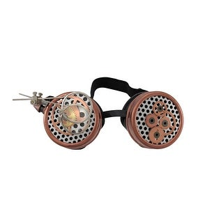 Steampunk Watch Gears Decorative Goggles w/ Magnifiers