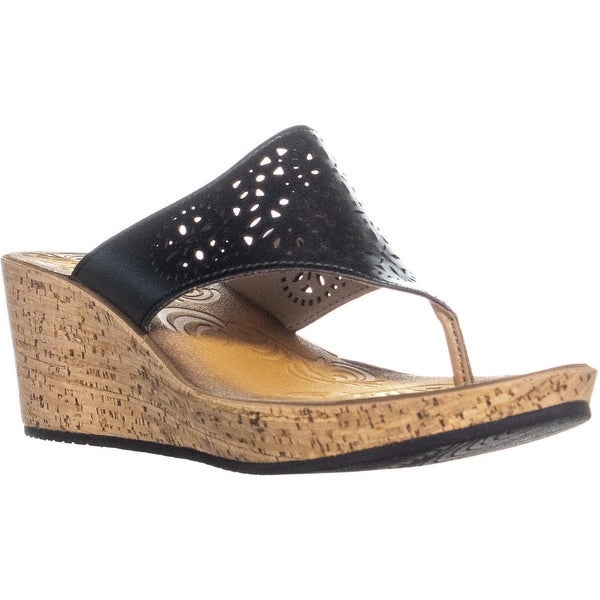 2059df0f851b3 ... Women s Shoes     Women s Wedges. Clarks Mimmey Charm Comfort Wedge  Thong Sandals