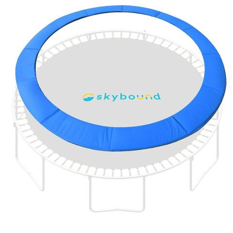 """SkyBound Trampoline Pad Spring Cover For 15ft Frame - Quick Install - 15"""""""