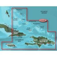 Garmin Bluechart G2 Vision VUS030R Southeast Caribbean - SD Card - Blue