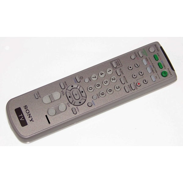 OEM Sony Remote Control Originally Shipped With: KV38FS120, KV-38FS120, KV36FS120, KV-36FS120, KV32FS120, KV-32FS120