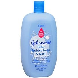 JOHNSON'S Baby Bubble Bath & Wash 28 oz