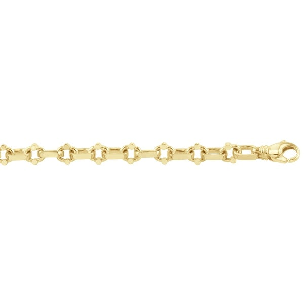 Men's 10K Gold 24 inch link chain