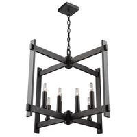 "Artcraft Lighting CL15088 Cityscape 8-Light 26"" Wide Chandelier - N/A"