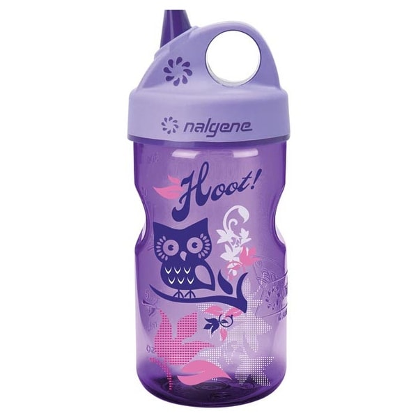 Nalgene Grip-N-Gulp Purple Hoot 2182-1212