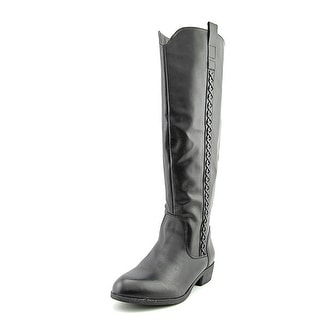 Mia Crossings Round Toe Synthetic Knee High Boot