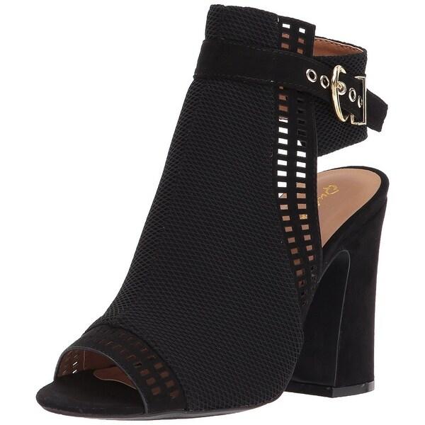 Qupid Women's Everly-22 Heeled Sandal